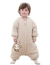Infant Baby Toddler Organic Cotton Sleep Bag Wearable Blanket Sleepwear