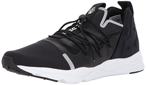 wholesale dealer f0587 44183 Galleon - Reebok Men s Furylite X Fashion Sneaker, Black White, 11.5 M US