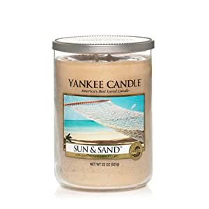 Yankee Candle Sun & Sand Large 2-Wick Tumbler Candle, Fresh Scent
