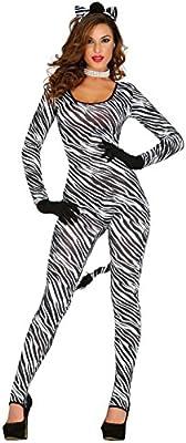 Guirca- Disfraz adulta cebra, Talla 36-40 (84931.0): Amazon.es ...