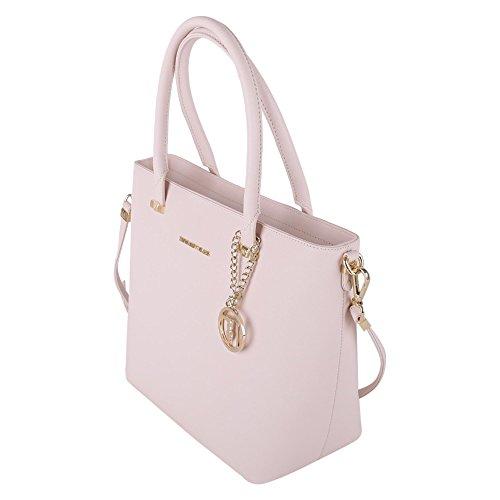 Trussardi Borsa Shopping Donna 75B000031Y090122P050 Poliuretano Bianco