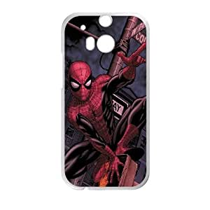 Marvel Spiderman HTC One M8 Cell Phone Case White Exquisite gift (SA_468087)