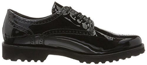 Shoes Mujer Negro Fashion Gabor Gabor Schwarz Derby para 1w4AAFHq