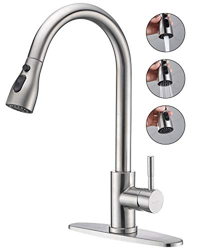Keonjinn Stainless Kitchen Faucets Brushed product image