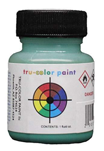 Tru-color Paint GN Glacier Green 1 oz Bottle Airbrush Paint Lacquer #TCP-155