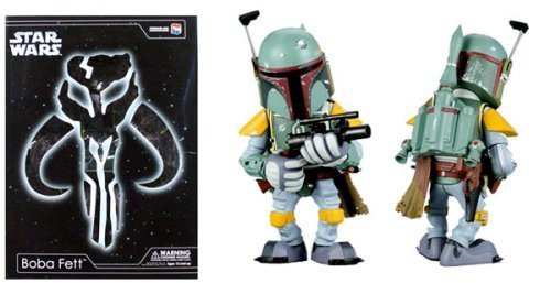 Medicom Star Wars Boba Fett Vinyl Collection Doll Figure