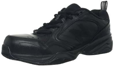 New Balance Men's MID627 Steel-Toe Work Shoe,Black,7 D US