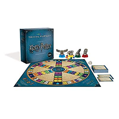 USAOPOLY Trivial Pursuit World of Harry Potter Ultimate Edition | Trivia Board Game Based On Harry Potter Films | Officially Licensed Harry Potter Game: Game: Toys & Games
