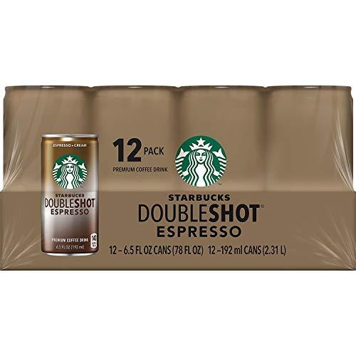 Starbucks Doubleshot Espresso Drink, 6.5 Oz. Cans (Pack of - Espresso Starbucks Double