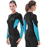 Scuba Diving Baosity Premium 3mm Neoprene Wetsuit with Stretch Panels for Mens Snorkeling Surfing Sizes S 3XL
