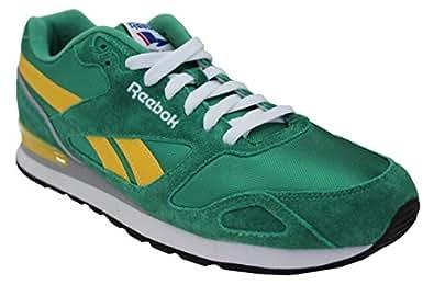 Reebok Men's Royal Mission Classic Sneaker,Glen Green/Athletic Yellow/White/Tin Grey Royal,10.5 M US