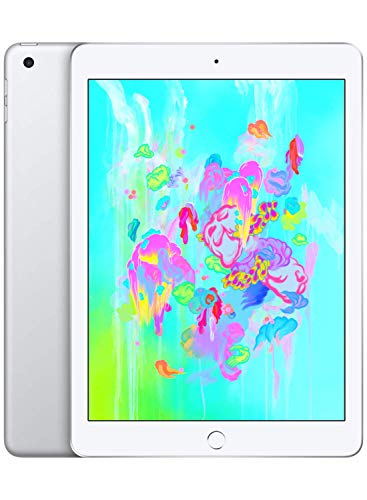 Apple iPad (Wi-Fi, 128GB) - Silver (Latest Model)