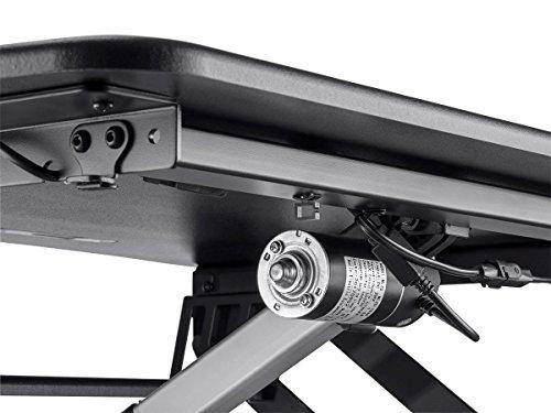 Monoprice Height Adjustable Sit Top/Desk | 23.2 Inch Single -