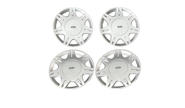 Genuine Ford Parts 1151367 - Juego de tapacubos para Ford Ka (modelos entre 2001 y 2008), 4 unidades: Amazon.es: Coche y moto