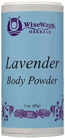Wise Ways Herbals, Body Powder Lavender, 3 Ounce