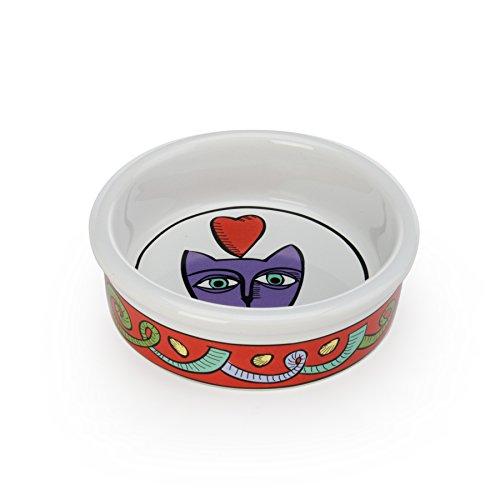 (Signature Housewares Stoneware Pet Bowls (Jester, Extra)