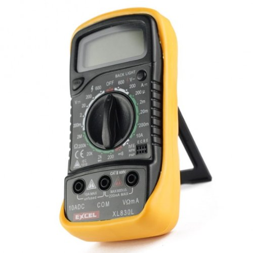Excel XL830L, LCD Digital Multimeter