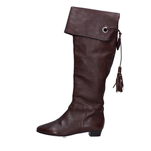 MORESCHI AJ201 Stiefel Damen 37 EU Braun Leder