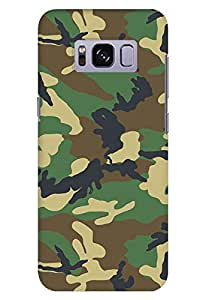 Stylizedd Samsung Galaxy S8 Plus Slim Snap Case Cover Matte Finish - Jungle Camo