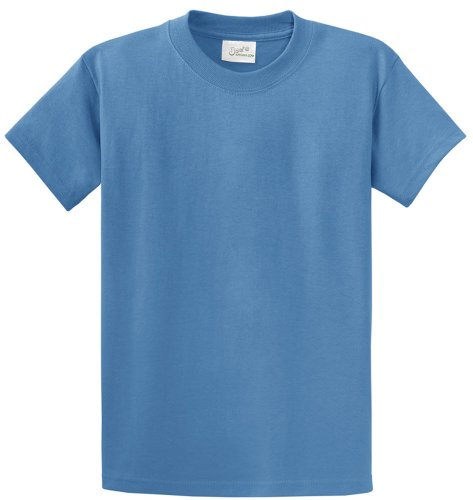Joe's USA(tm - Heavyweight 6.1-Ounce, 100% Cotton T-Shirts in Size 3XL Colonial Blue ()