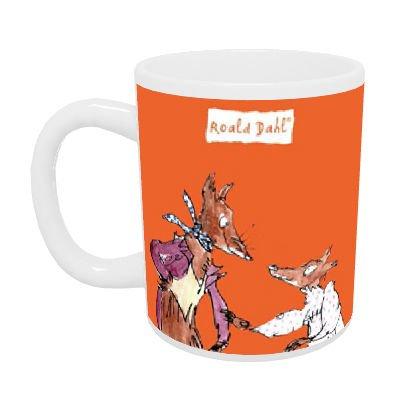 art247 - Roald Dahl s Fantastic Mr. Fox Caja Taza de cerámica - 10 oz: Amazon.es: Hogar
