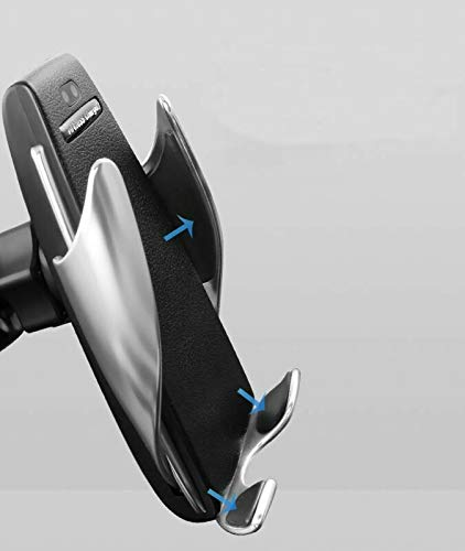 Wireless Charger Car Mount Holder W//Automatic Sensor for iPhone /& Android