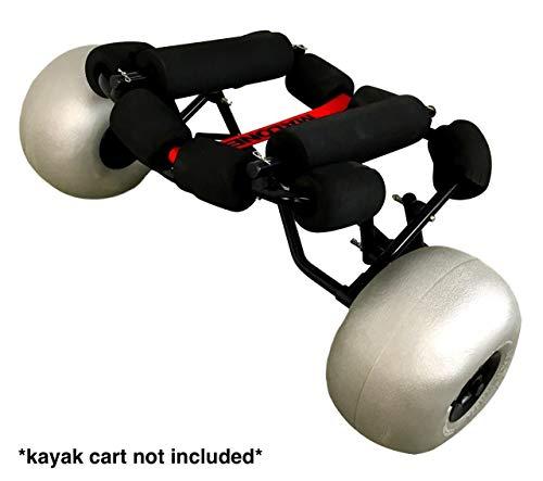 Amazon.com: Ruedas de repuesto para carros de Kayak Dolly y ...