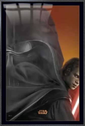 Amazon Com Star Wars Episode Iii Revenge Of The Sith Framed Movie Poster Print Teaser Size 27 Inches X 40 Inches Posters Prints