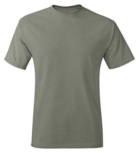 shirt Stonewashed Hanes Men`s Tagless Green T g1vvtf