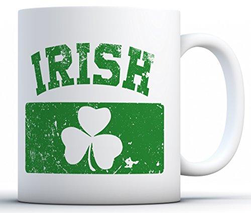 Awkward Styles St Patrick's Day Coffee Mugs Lucky Irish St. Patrick's Day Gifts Irish Flag 11 oz