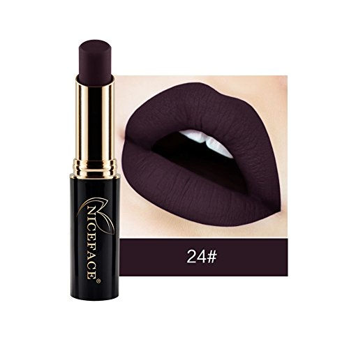 Gracefulvara Makeup Waterproof Matte Velvet Lipstick Long Lasting 24#