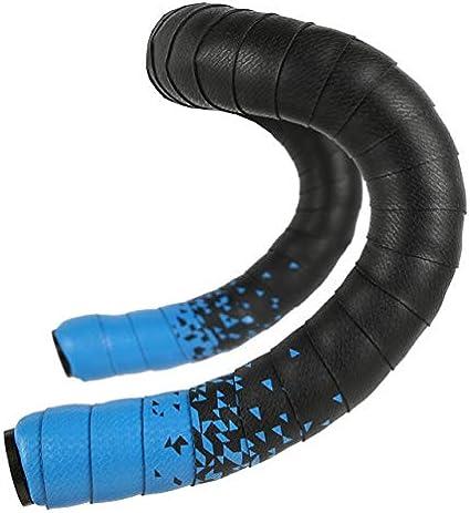 Mshitf Road Bicycle Handlebar Tape Cycling Handle Belt Straps EVA PU Tape Anti-Vibration Racing Bike Handle Bar Tape Cork Wrap Handlebar Tape