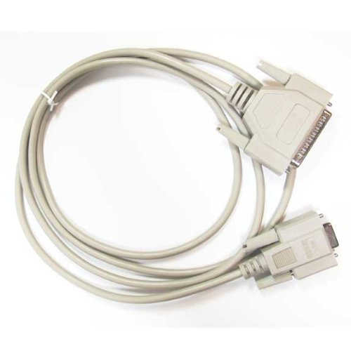 10 Feet SF Cable DB9 Female//DB25 Male Null Modem Cable