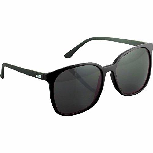 Neff Womens Jillian Sunglasses, Black, One Size Fits - Neff Sunglasses