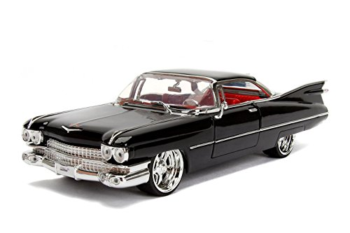 1959 Cadillac Coupe DeVille Black 1/24 Diecast Model Car by Jada 99989 by Jada