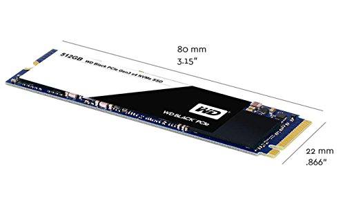 WD Black 512GB Performance SSD - 8 Gb/s M.2 2280 PCIe NVMe Solid State Drive – WDS512G1X0C by Western Digital (Image #4)