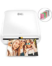 """$69 » Zink Kodak Step Printer   Wireless Mobile Photo Printer Zero Ink Technology & Kodak App for iOS & Android   Prints 2""""x3"""" Sticky-Back Photos from Any Bluetooth or NFC Smart Device   White"""