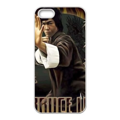 Bruce Lee Quotes Absorb What Is Useful S9C55Q6PL coque iPhone 5 5s case coque white 0QRM52