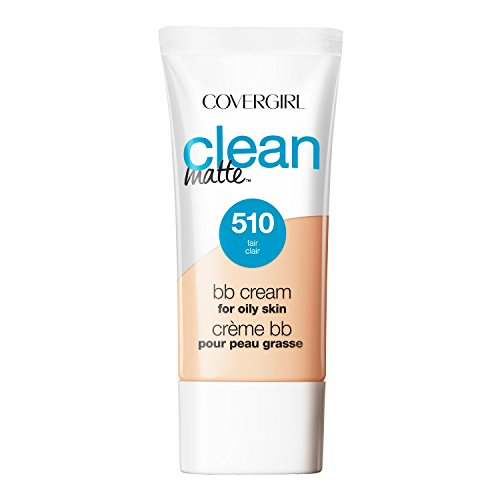 COVERGIRL Clean Matte BB Cream Fair 510 For Oily Skin, 1 oz (Bb Cream For Oily Skin)