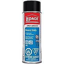 LePage Heavy Duty Spray Adhesive, 468g (1726250)