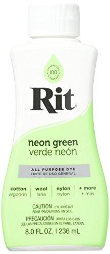 Rit 88210 Fabric Dye, 8 oz, Neon Green