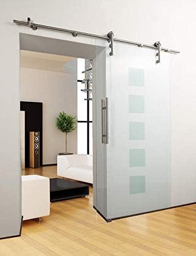 Techo para puerta de cristal - diseño cuadrado - 1050 x 2050 mm - set completo: Amazon.es: Bricolaje y herramientas