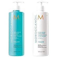 MoroccanOil Extra Volume Shampoo & Conditioner Combo (16.9 oz) / 500 ml