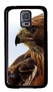 design Samsung Galaxy S5 cases Hawk 2 Animal PC Black Custom Samsung Galaxy S5 Case Cover Kimberly Kurzendoerfer