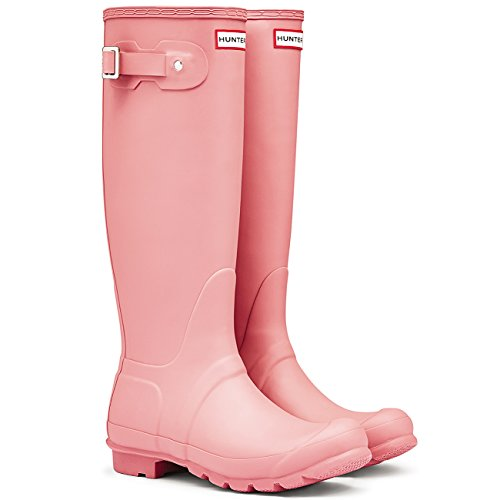 Womens Hunter Original Tall Wellington wasserdichte Winter Schnee Regen Stiefel Rhodonit Pink