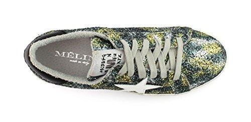 Galaxy Nero Bianco Giallo Meline Ku 1011 Glitt Sneaker Mac A0qYC8w