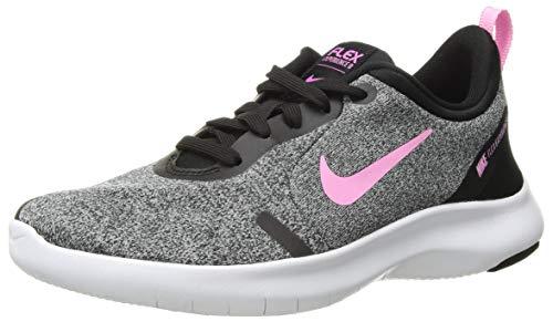 Nike Women's Flex Experience Run 8 Shoe, Black/Anthracite/Dark Grey, 5.5 Wide - Nike Overlay