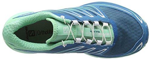 SalomonSense Mantra 3 - Zapatillas de running mujer Multicolor - Mehrfarbig (Fog Blue/Lucite Green/Tonic Green)