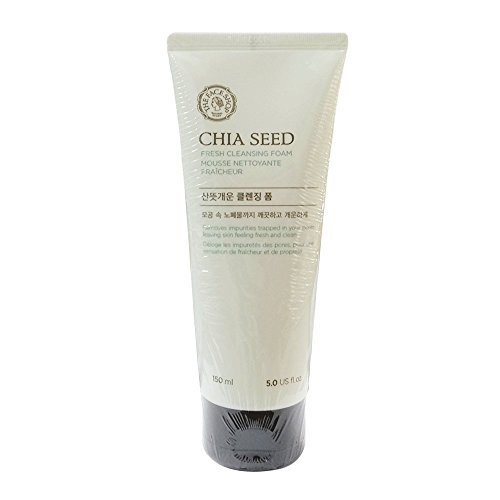 [The Face Shop] Chia Seed Fresh Cleansing Foam - 150ml