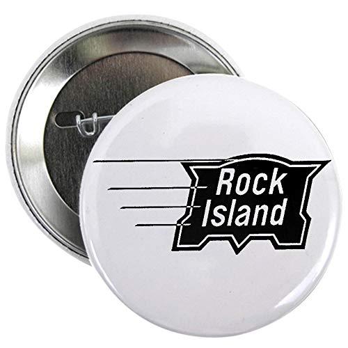 (CafePress Rock Island Railroad Button 2.25